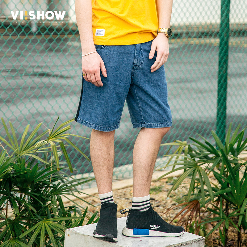 ФОТО VIISHOW Men Jeans Famous Brand Designer Denim Jeans Men Patchwork Jeans Male Denim Pants Casual Men Jeans ND1187172