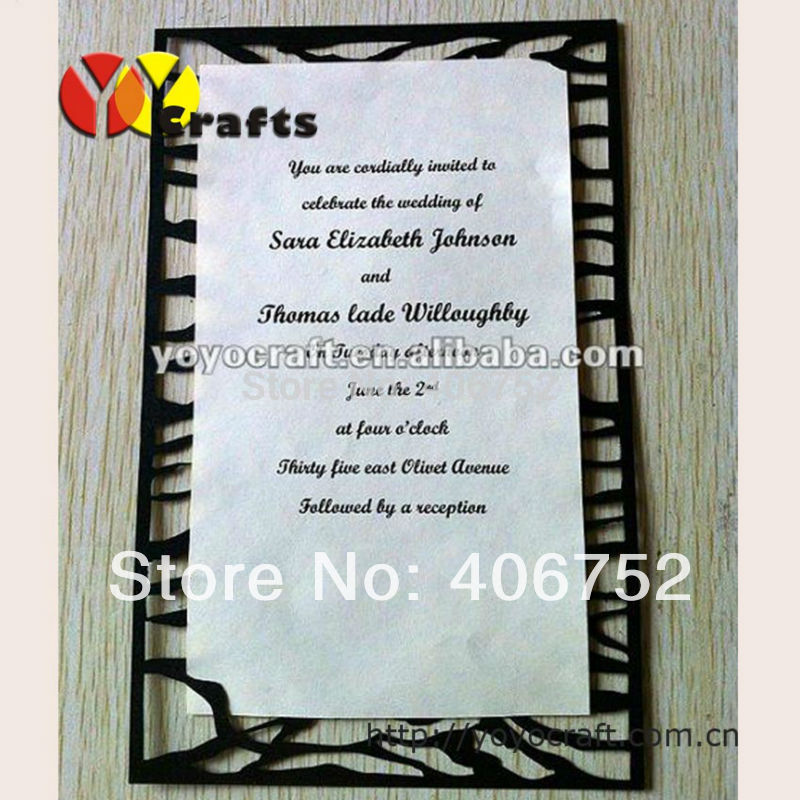 Formal Ceremony Tombstone Unveiling Invitation Cards Simple Design