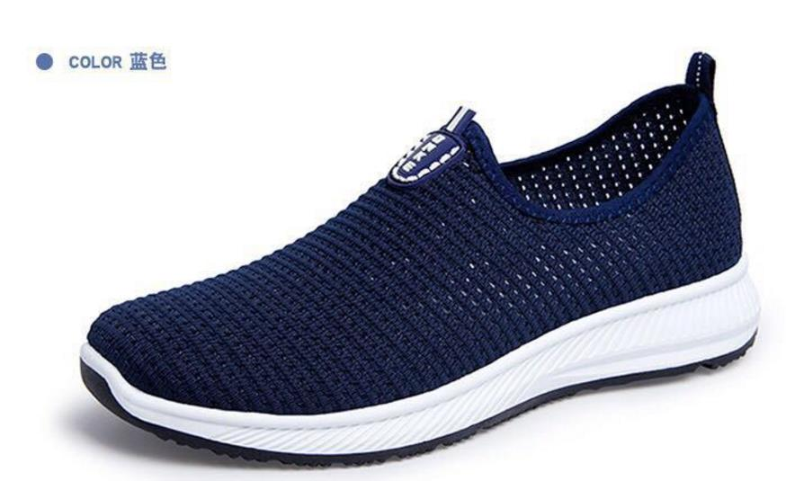 2018 summer fashion men casual shoes Men's sport mesh Vulcanize shoes soft breathable footwear man hollow out slip-on shoes стульчик для кормления selby 252 серый page 6