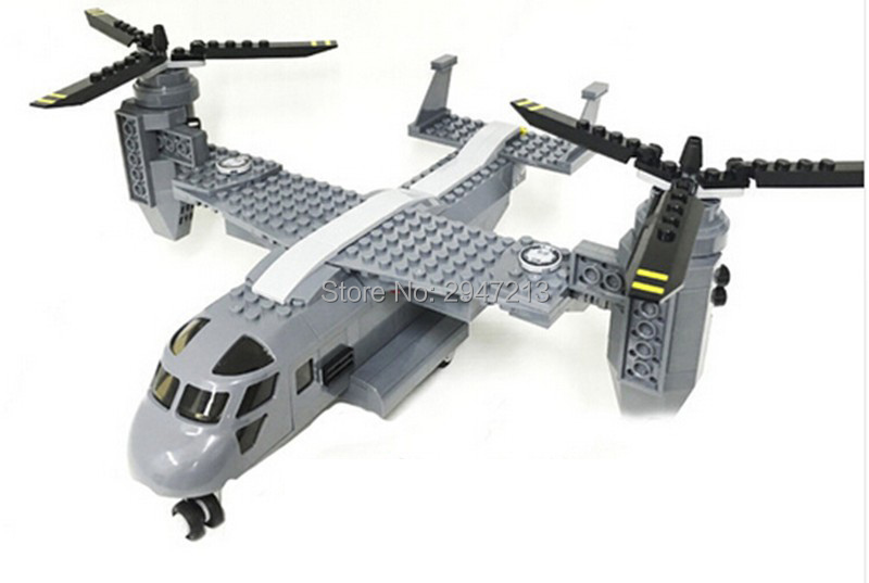 hot compatible LegoINGlys Military Modern Warfare The U.S. Osprey transport aircraft V-22 Building blocks figures brick toys худи print bar modern warfare