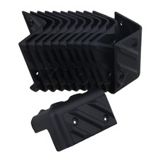 цена на Yibuy 12 Pieces Plastic Corner Protector for Speaker Cabinet Guitar Amplifier Musical Instrument Accessories