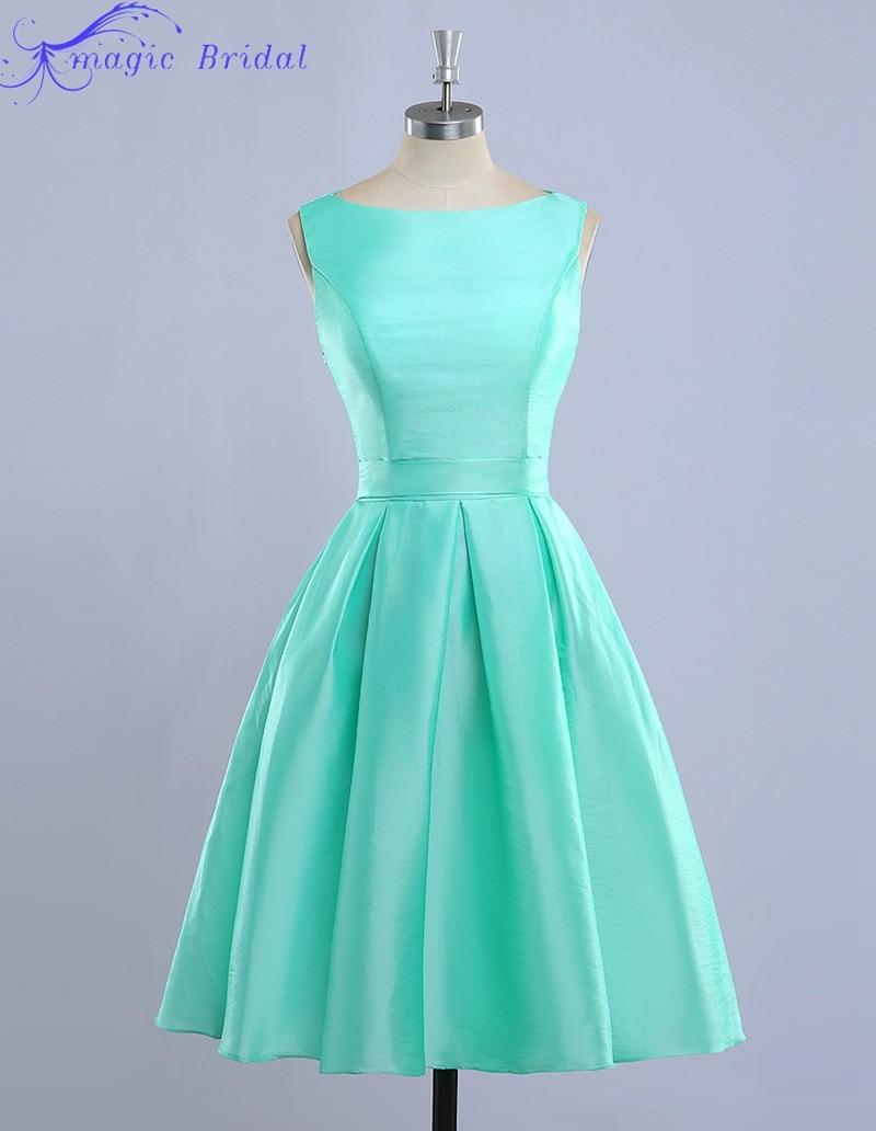 Popular short light blue bridesmaid dresses buy cheap short light blue bridesmaid dresses lots - Light blue and mint green ...