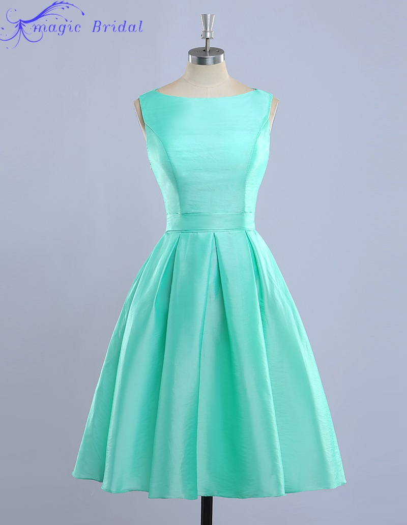 Popular mint green bridesmaids dresses buy cheap mint for Mint green wedding dress