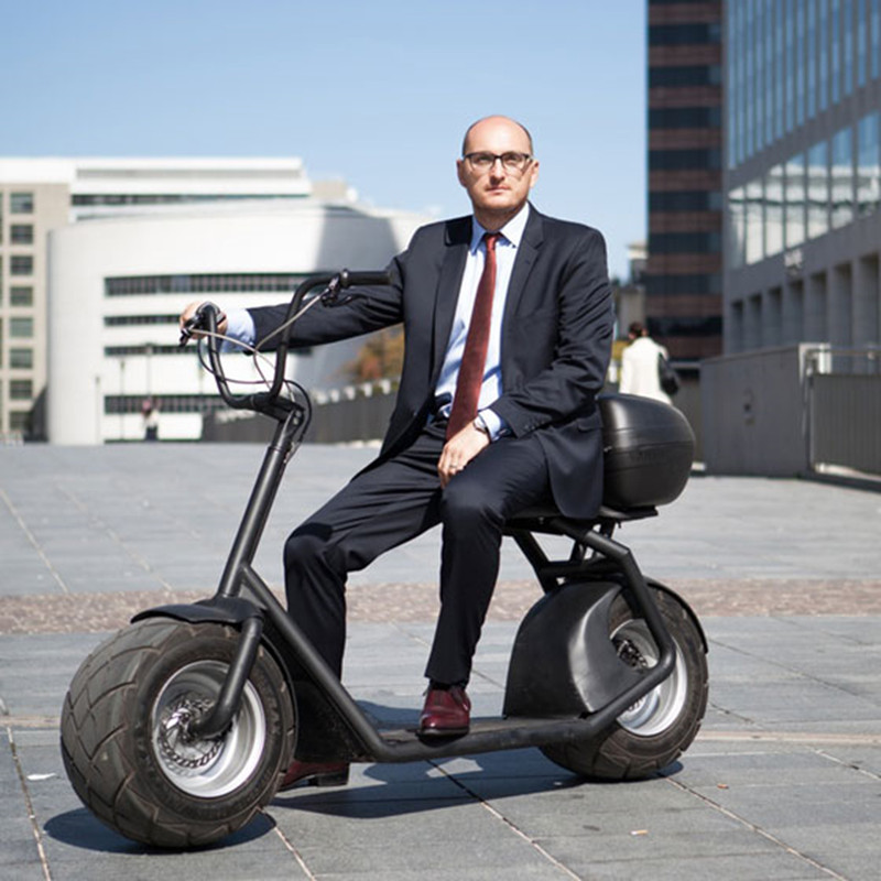 High Quality CityCoCo Halley 2 wheels off road smart city scooter electric motorcycle for adult цена