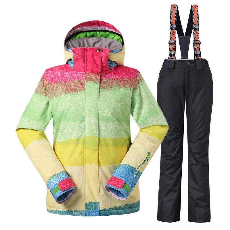 Gsou Snow шаңғы костюмдер әйелдер - Спорттық киім мен керек-жарақтар - фото 2