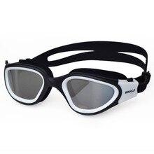 Профессиональные взрослые противотуманные линзы с защитой от ультрафиолетовых лучей, мужские и женские очки для плавания, водонепроницаемые регулируемые силиконовые очки для плавания в бассейне