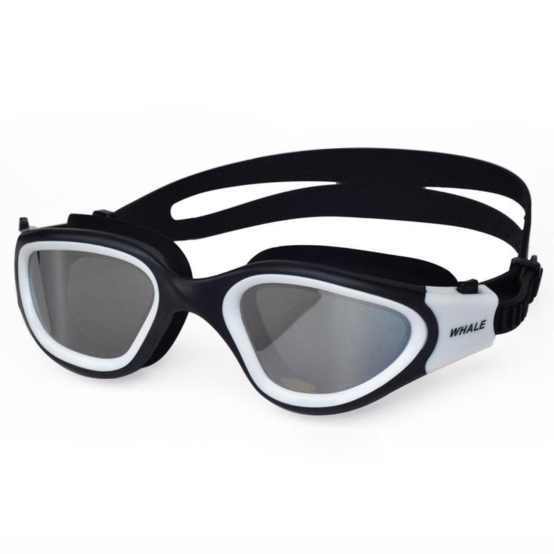 Профессиональный Взрослый Анти-туман линзы с защитой от ультрафиолетовых лучей для мужчин и женщин, очки для плавания Водонепроницаемый ре...