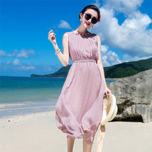 2f0b559cc6bfb Buy purple silk chiffon dress and get free shipping on AliExpress.com