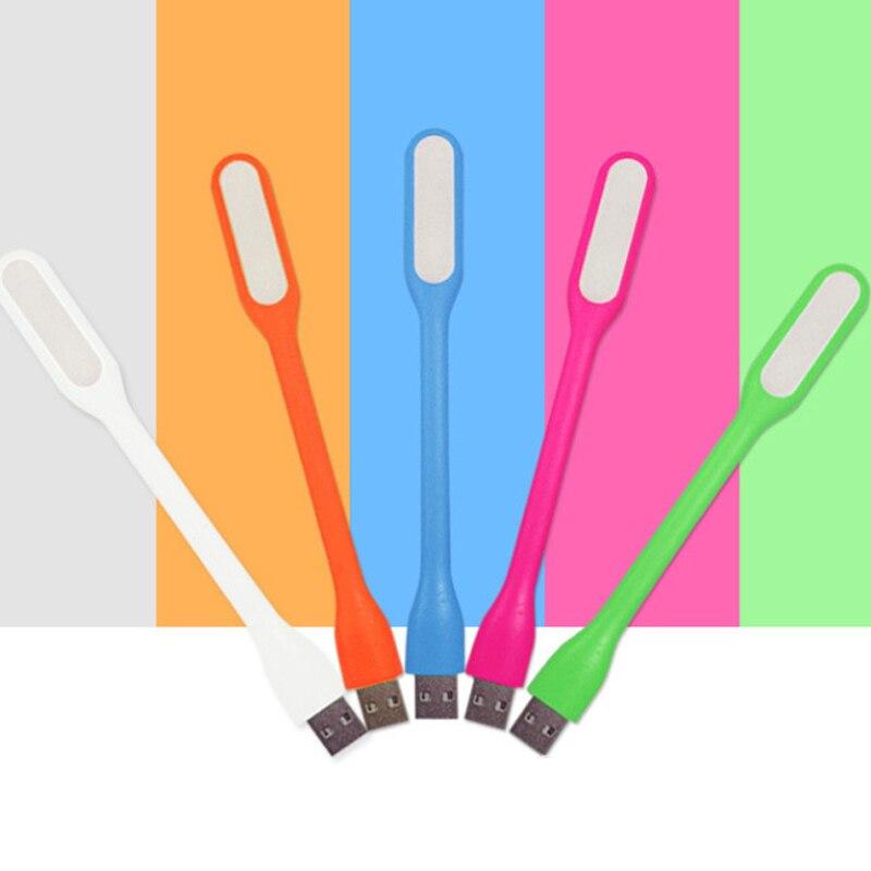 Mini Lámpara De Lectura Multicolor Estilo Coche Usb Led Luz Ordenador Lámpara Para Ordenador Portátil Pc Lectura Noche Gel De Sílice