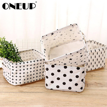 ONEUP Creative Storage Basket For Toy Washing Basket Dirty Clothes Sundries Home Closet Organizer Container Box Laundry Basket