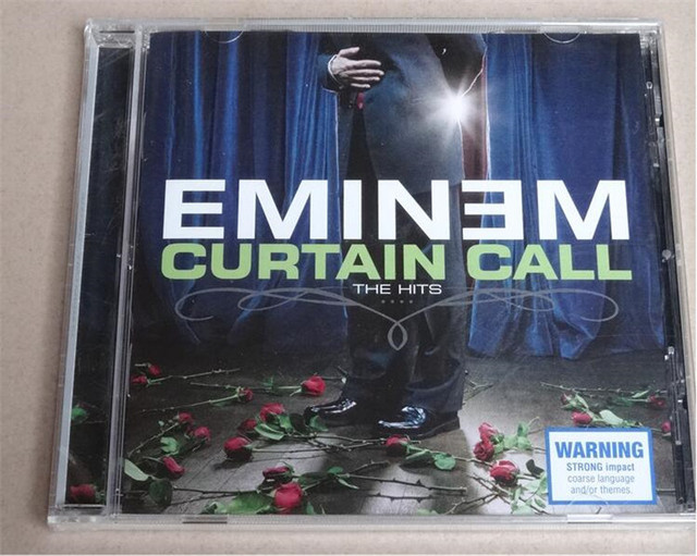 Free Shipping: Eminem Curtain Call The Hits CD Seal-in CD/DVD Player ...