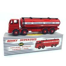 Dinky brinquedos supertoys 943 atlas 1:43 escala modelo de carro leyland polvo petroleiro esso liga diecast carro modelo & brinquedos modelo