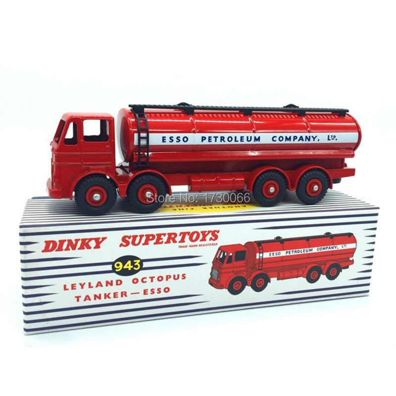 Dinky legetøj Supertoys 943 Atlas 1:43 Scale bil model Leyland Octopus Tanker ESSO Alloy Diecast Bilmodel & Legetøj Model