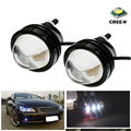 LEADTOPS Automobile 15w 12v Lens Fog Lights Bull's Eye Refit Fish Eye Fog Lamp Hawk Car Led Eagle Eye Daytime Running Lights BE