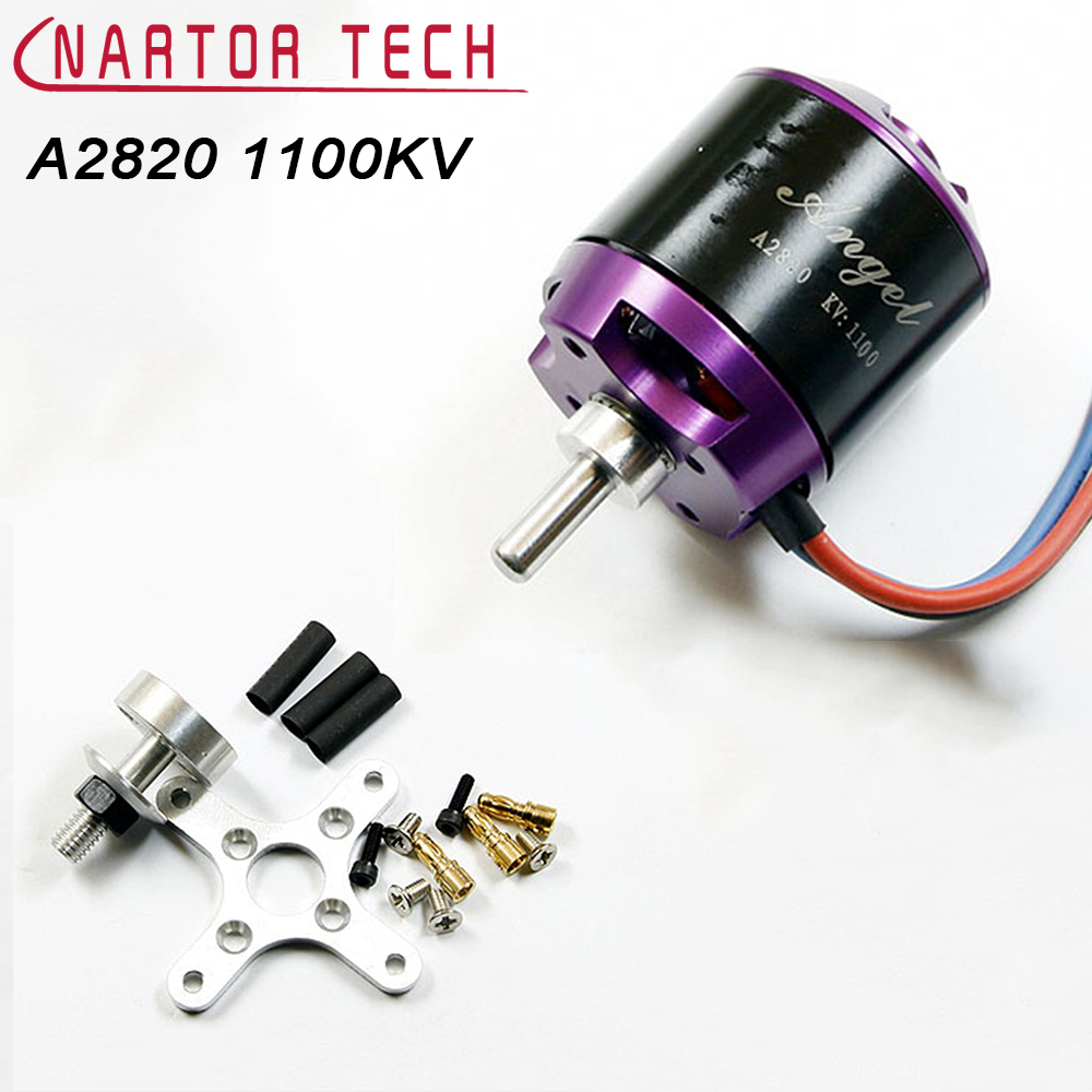 Brushless Motor SUNNYSKY Angel A2820 1100KV 2-4S Outrunner for Multicopter Quadcopter Rotor 2017 dxf sunnysky x2208 1100kv 1260kv 1500kv 2600kv high efficient outrunner brushless motor for quadcopter airplane model