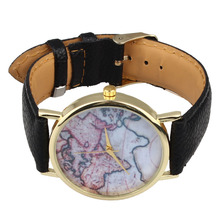 Important 2017 Scorching Excessive High quality Classic Earth World Map Watch Alloy Girls Analog Quartz Wrist Watches BK Jan09