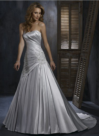grey dresses for a wedding silver grey wedding dress in wedding dresses from 4622