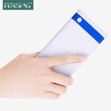 Ferising, ультратонкое зарядное устройство, настоящие 10000 мА/ч, два USB выхода, полимерная батарея, быстрое зарядное устройство, зарядное устройство с LED дисплеем, PB-103