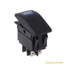 New 4 Pin ON – OFF Waterproof 12V 20A Bar Rocker Toggle Switch LED Light Car Boat Marine Vehicles Drop Shipping Support