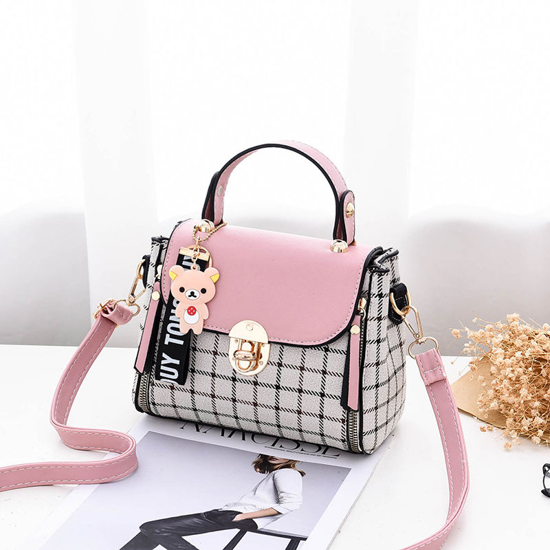 New PU Candy Color Female Crossbody Bag Soft Material Women's Luxury Shoulder Casual Bag Fashion Travel Quality Messenger B