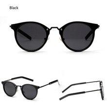 2017 gafas de Sol Retro Mujeres Colorido Diseñador de La Vendimia Gafas de Sol de Señora Ronda Shades Street Style Frames Eyewear