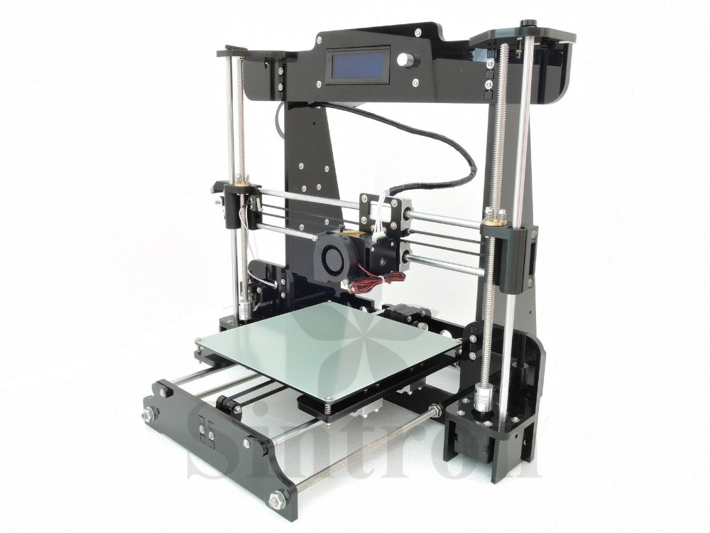 [Sintron] NEW! TW-101 2016 Upgrade Pro & Easy 3D Printer Reprap Prusa i3 MK8 LCD, Free Shipping, Provide Technical Support image