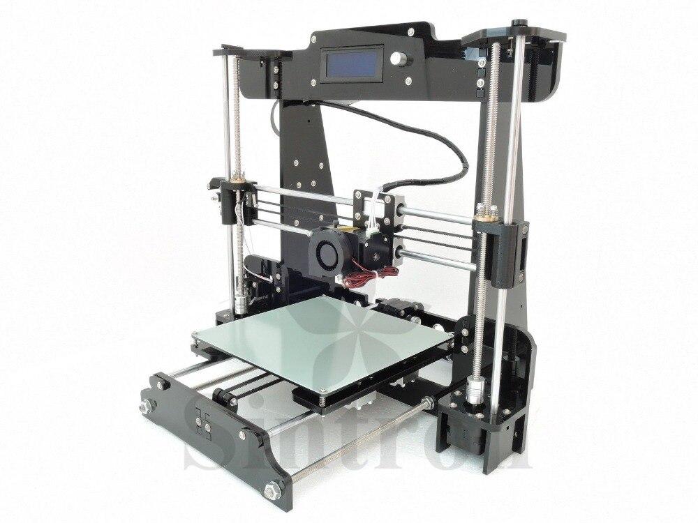 [Sintron] ¡Nuevo! TW-101 2016 Actualización Pro & Easy 3D Impresora Reprap Prusa I3 MK8 LCD, Envío Gratis, Proporciona Soporte Técnico