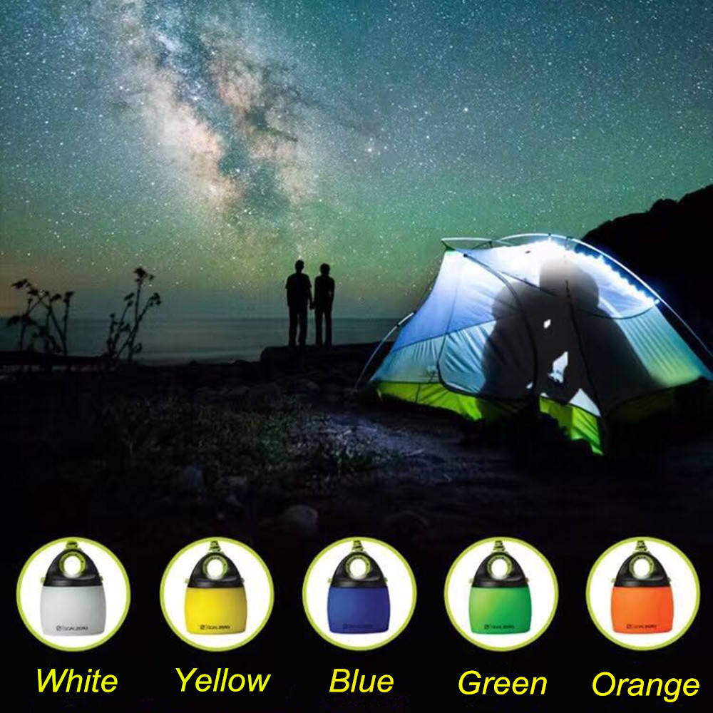Novelty! USB Input LED Camping Light,Dual Mode Soft And Sopt Light,Chainable Mini Tent Light For Camping,barbecue,outdoor Light