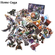 Homegaga 44pcs The cartoon Stickers for Laptop Skateboard Motorcycle Home Decoration Styling Vinyl Decals Cool DIY D1189