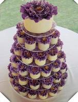 HOT! ronde Clear 6 Tier Acryl Wedding Cake Stand Cupcake Display Stand Voor Verjaardagsfeestje decoratie