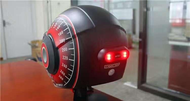 Universal Helmet Flashing Led Light Night Riding Adhesive Safety Blink rechageable  5