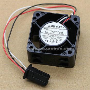 NMB-MAT 1608KL-05W-B39 24Vdc 0.08A Servo driver fan with Fanuc interface 2pcs in pack nmb mat 5910pl 07w b75 l54 dc 48v 0 85a 170x150x25mm server square fan