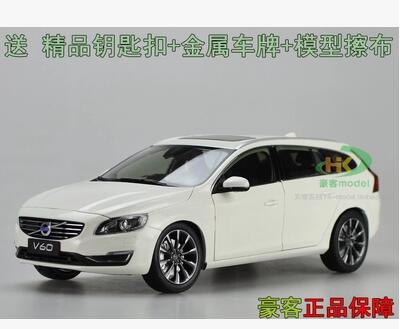 New VOLVO V60 Wagon 1:18 car model alloy toy diecast collection Touring original  Luxury cars  Exquisite workmanship gift boy 2015 new ford taurus 1 18 original alloy car models changan ford kids toy beautiful box gift boy limit collection silver