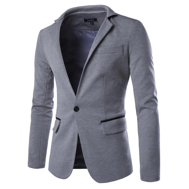 Homens terno de negócio Formal homens moda Blazer único botão M-2XL Slim Fit Suit Blazer marca projeto masculino terno jaqueta Casual 9010