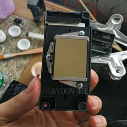 Гарантия 98% насадка ок восстановленная используется DX5 Печатающая головка для Epson F186000, F160010, F158000, F187000