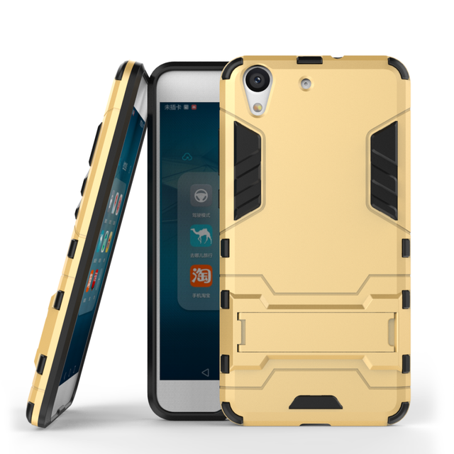 Shockproof Stand Hard Phone Cases for Huawei Y6 ii 2 Y 6II Honor 5A 5 A CAM-L03 CAM-L21 CAM-L23 Case Armor Stand Phone Accessory