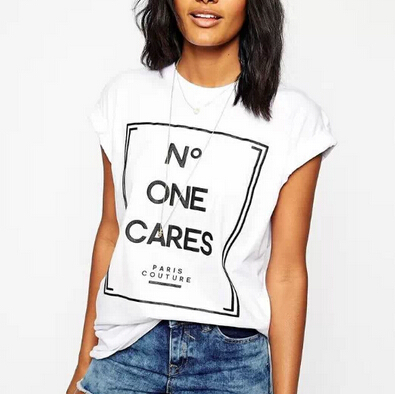 Buy women cute letters print t shirt for T shirt printing stonecrest mall