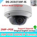 Versão inglês DS-2CD2720F-IS 2MP Câmera Dome 2.8-12mm Vari-distância focal Da Lente Da Câmera IR-Cut IP Disposição câmera