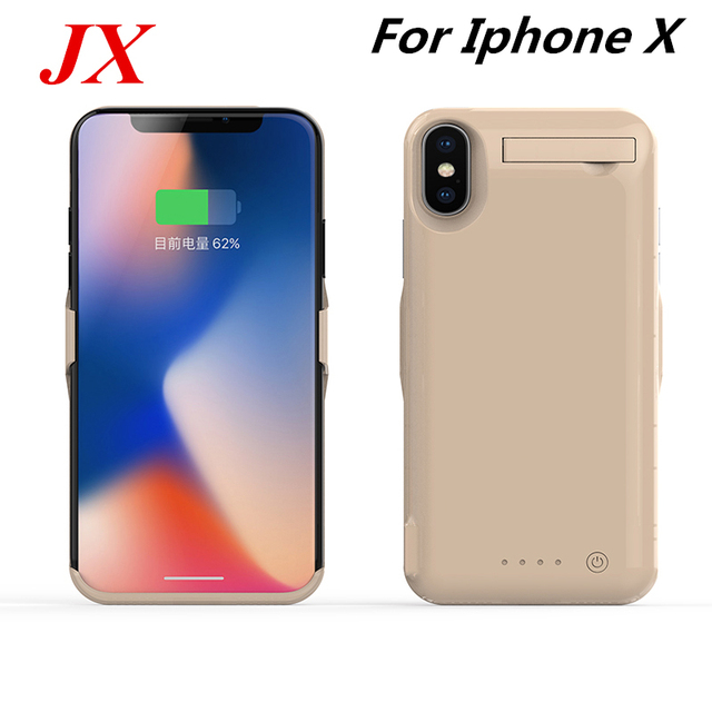 huge selection of 609dc c2df3 US $17.9 40% OFF|For iphone X Battery Case 10000 Mah High Capacity Charger  Case Smart Phone Cover Power Bank For iphone X Battery Case-in Battery ...
