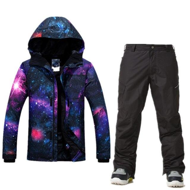2c140b5ad8 Online Shop GSOU SNOW Ski Suit Men Ski Jacket Pants Waterproof ...