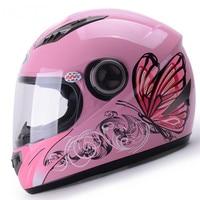 ABS Motorcycle Helmet Female Four Seasons General Electric Vehicle Safety Helmet Winter Full Heat Retaining Helmet For Women