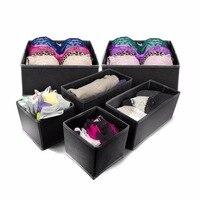 Hangerworld Non Woven Fabric Storage Box Foldable Cube Cube Bin 6 Pieces Lot