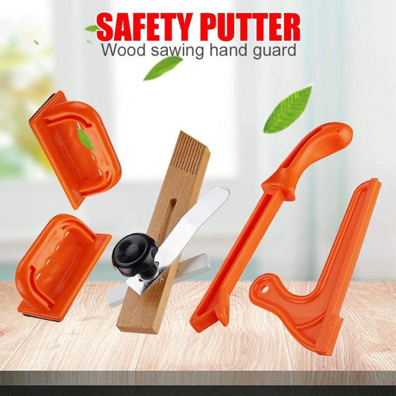 1Set T1 T2 Safety Hand Protection Sawdust Wood Saw Push Stick Set For Carpentry Table Woodworking