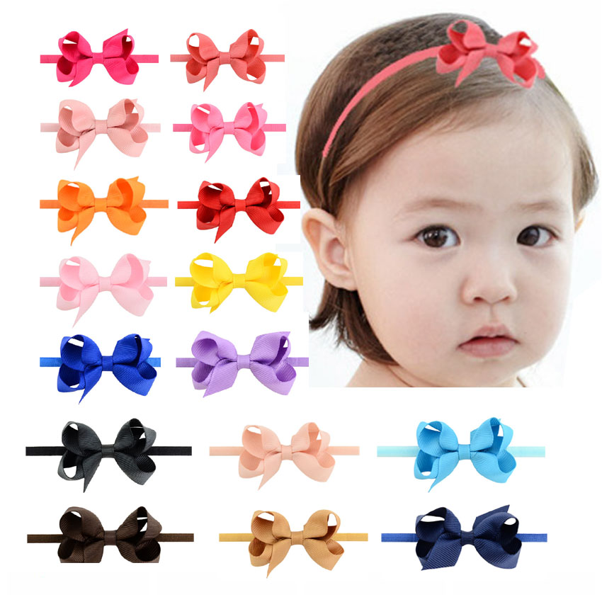 Kids Bow Headbands Baby Girls  Hair Bands For Newborn Girls Hair Head Band Children Multicolor Hair Accressories kids bow headbands baby girls hair bands for newborn girls hair head band children multicolor hair accressories