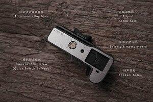 Image 3 - Fuji X H1 XH1 caméra Mr. Stone fait à la main en cuir véritable caméra étui vidéo demi sac caméra body