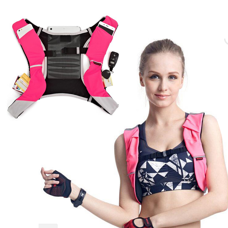 Multifunction Professional Sports Running Vest Backpack Lightweight Marathon Running Bag Cycling Hiking  Backpack For Phone
