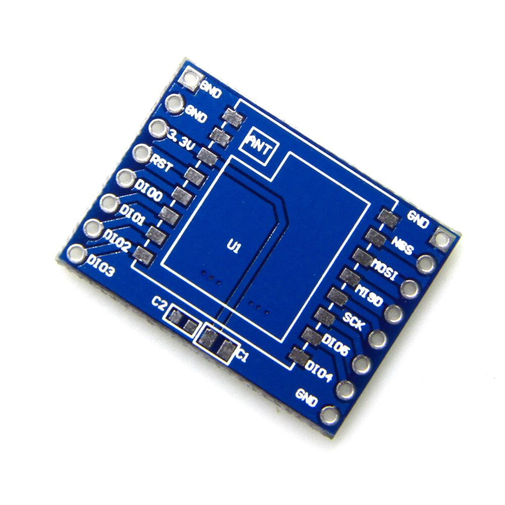 цена на 1pcs SX1278 LoRa Module 433M development base board Ra-02 Ai-Thinker Wireless Spread Spectrum Transmission Socket DIY