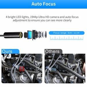 Image 3 - Antscope Wifi Endoscope Auto Focus Camera 1944P HD Mini Borescope Waterproof Endoscope Inspection Camera 4LED for IOS/Android 24