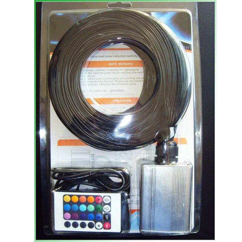2014 Diy Multi color Led Fibra Optic Fiber Lamp Lighting ...