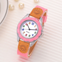 2019New fashiong CYD Cute Boys Girls Quartz Watch Kids Childrens Fabric Strap Student Time Clock Wristwatch Gifts